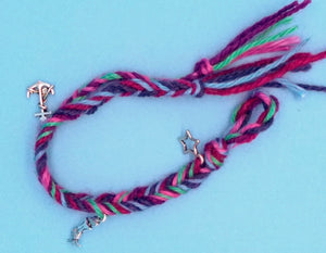 Fishtail Braided Mermaid Themed Bracelet