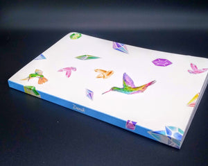 Denik Notebook-Feathered Jewels