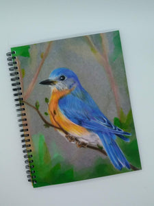 Denik Wirebound Notebook-Bluebird