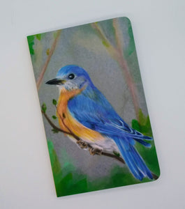 Denik Notebook-Bluebird