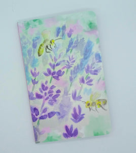 Denik Notebook-Bees and Lavender