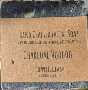 Handcrafted Facial Soap-Charcoal Voodoo