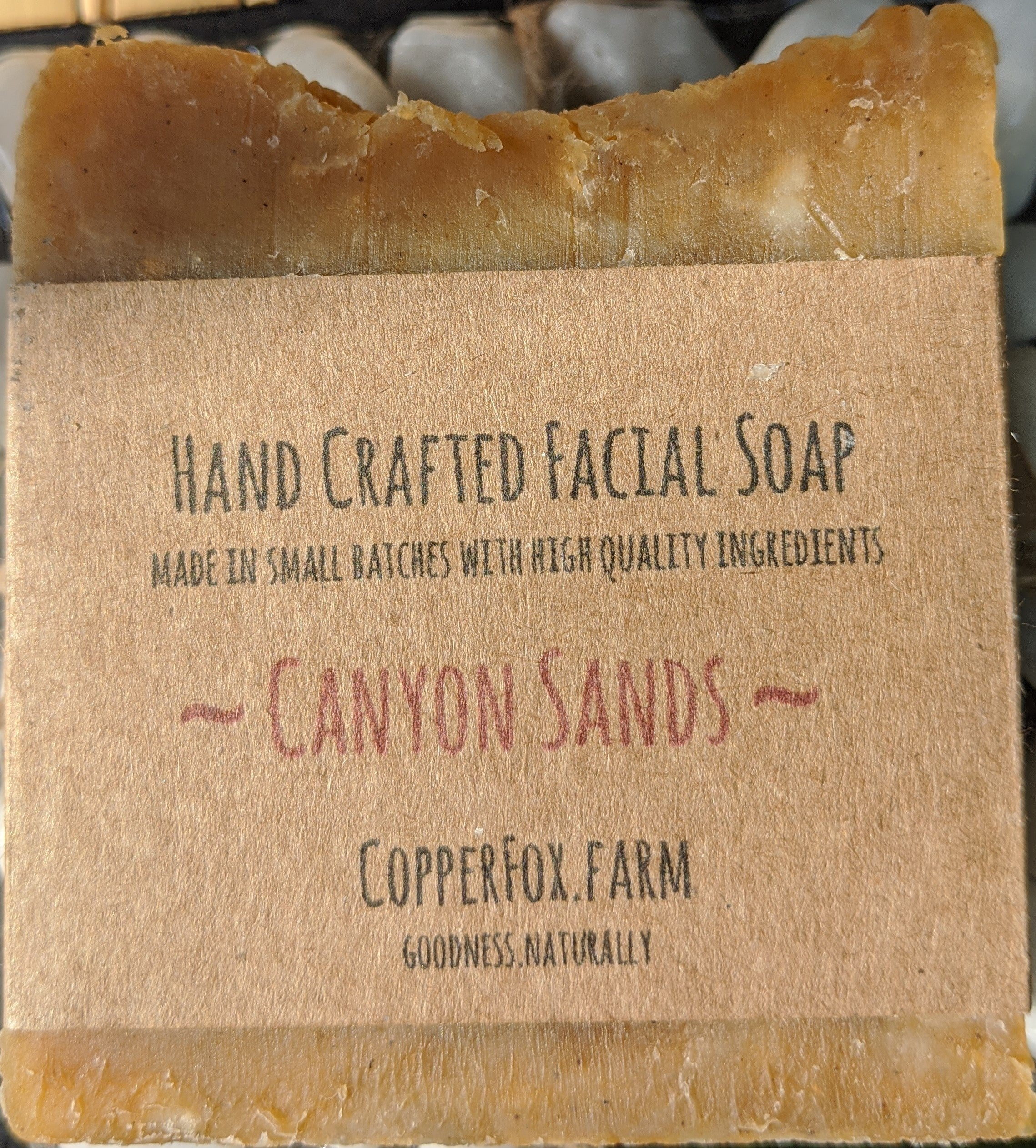 Handcrafted Facial Soap-Canyon Sands