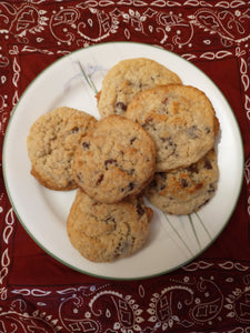 Gluten Free Coconut Chocolate Chip Pecan Cookies