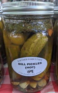 Dill Pickles (HOT)
