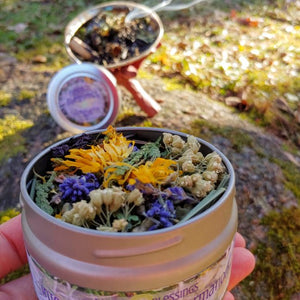 Herbal Blessings Integration and Transformation Smudging Ritual Blend