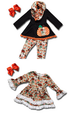 Patchwork Pumpkin Dress