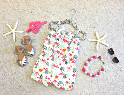 Fun Flamingo Romper