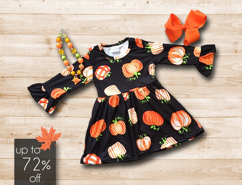Posh Pumpkin Dress