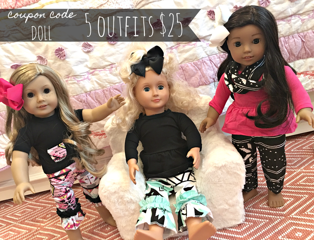 Doll Outfit Bundle