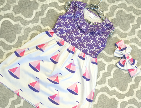 Sailboat Sweetie Dress