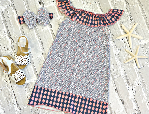 Coastal Cutie Ruffle Dress