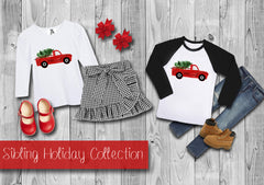 Boy's Holiday Truck Shirt