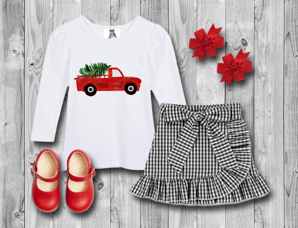 Girl's Holiday Truck Set