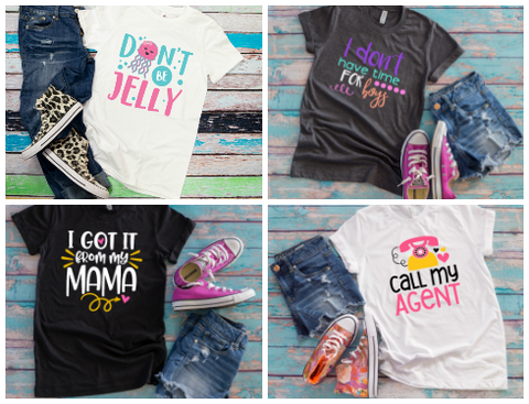 Sassy Girls Shirt Bundle