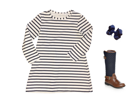 Simple Stripe Dress