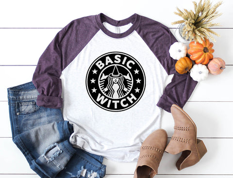 Basic Witch Tee: Ladies