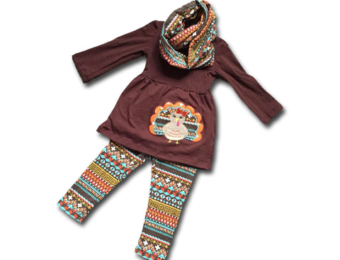 Tribal Turkey Pant Set