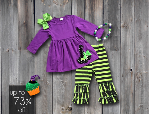 Wacky Witch Pant Set