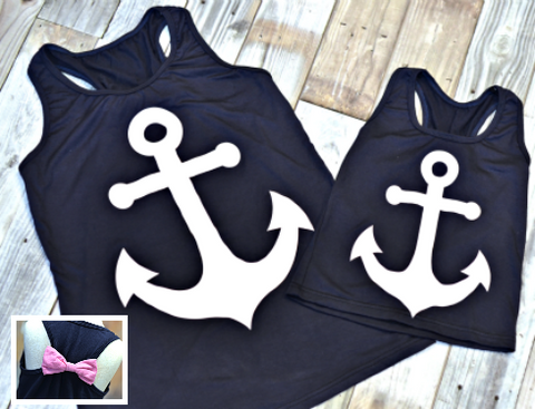 Ladies & Girls Anchor Tank