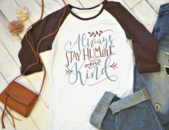 Humble & Kind Ladies Shirt