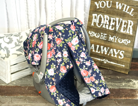 Minky Car Seat Covers