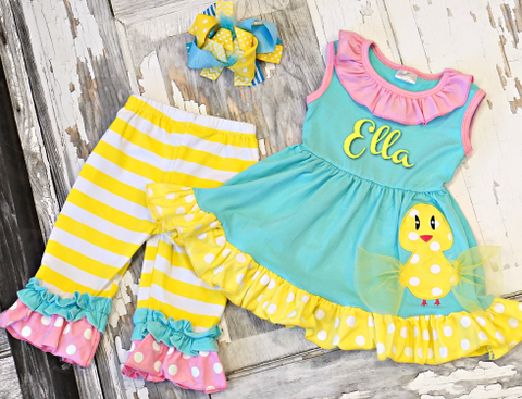 Fancy Feathers Chick Set