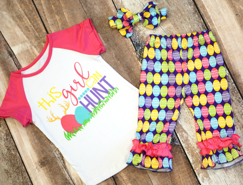 Egg Hunter Capri Set