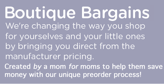 Boutique Bargains! We are changing the way you shop