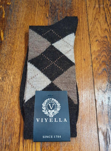 Argyle Socks | Brown