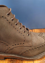 Load image into Gallery viewer, Bedale | Brogue Boot | Waxed Suede