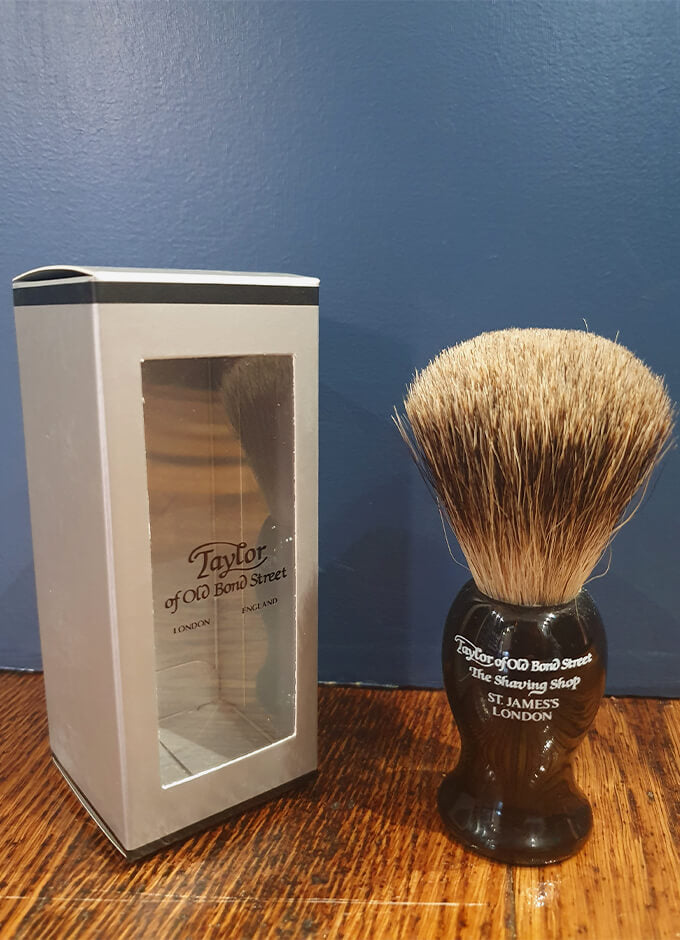 Pure Badger Brush | Large | Black