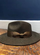 Load image into Gallery viewer, Boston Wool Fedora | Moss