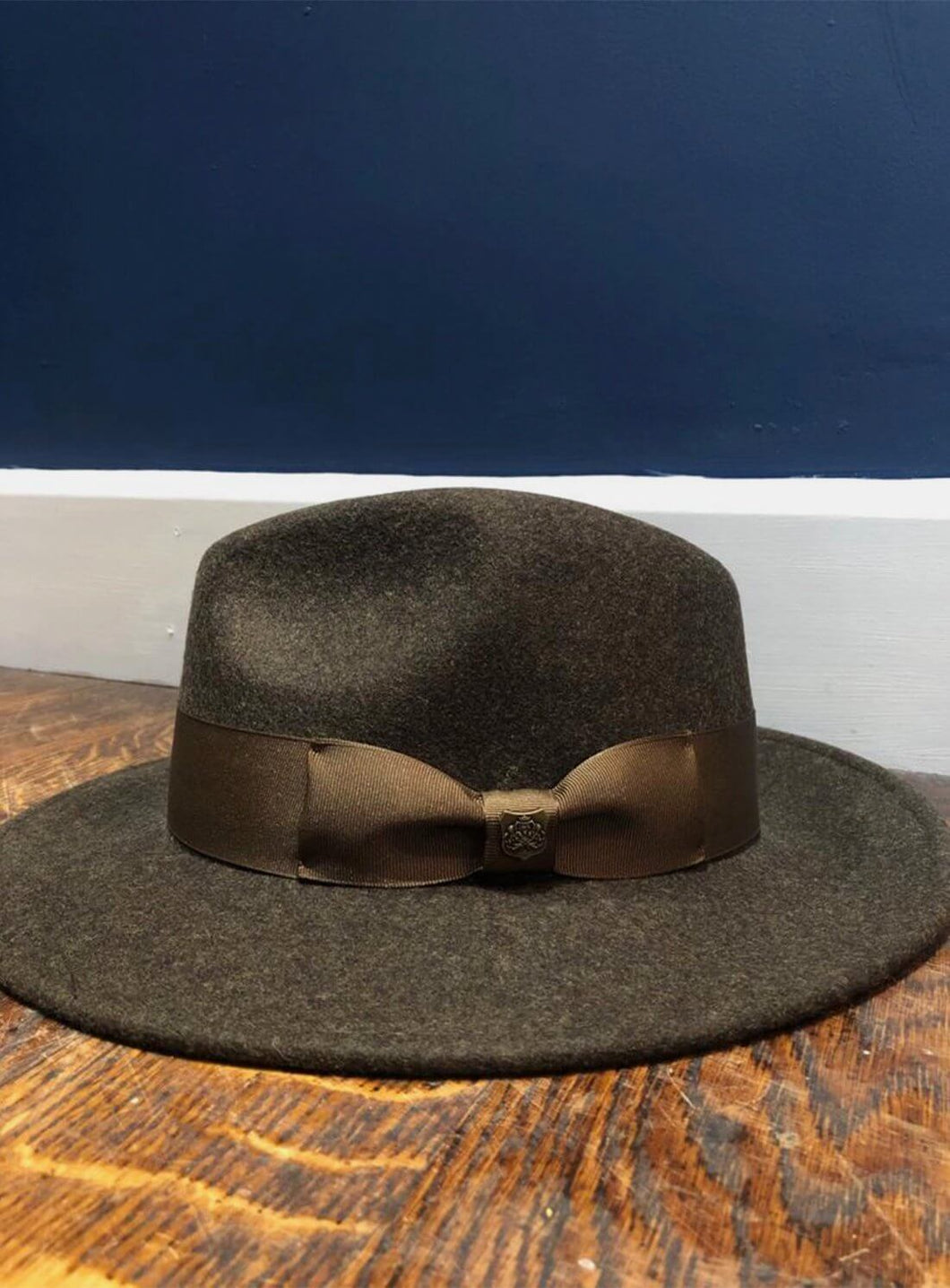 Boston Wool Fedora | Moss