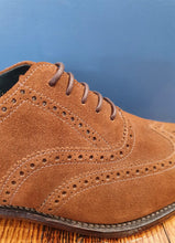 Load image into Gallery viewer, Brogue | Inverness | Brown Suede