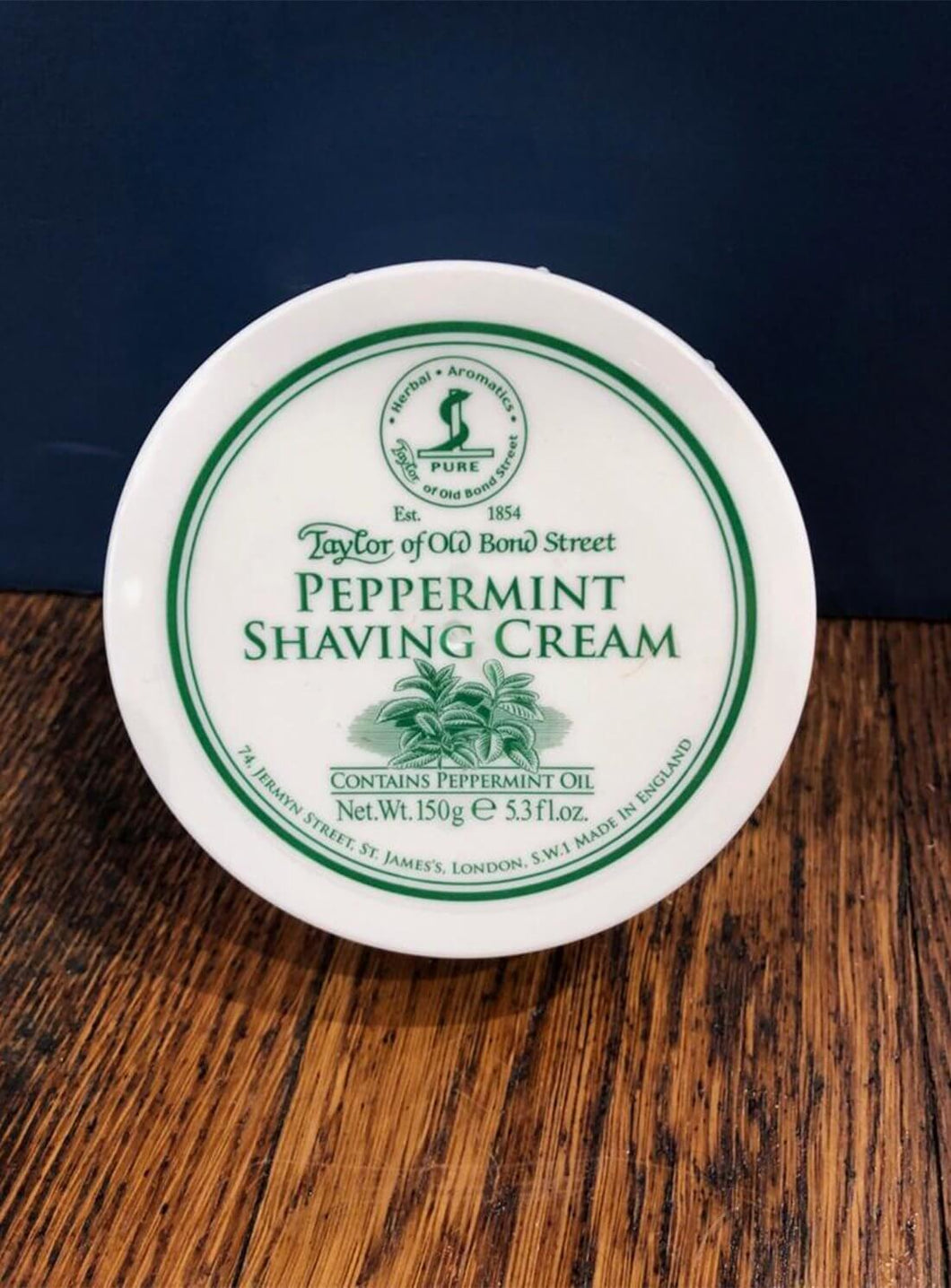 Peppermint Shaving Cream