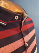 Load image into Gallery viewer, Cotton Polo | Red Stripe