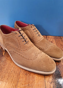 Tan Brogue | Kerridge | Suede