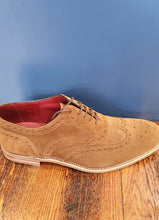 Load image into Gallery viewer, Tan Brogue | Kerridge | Suede