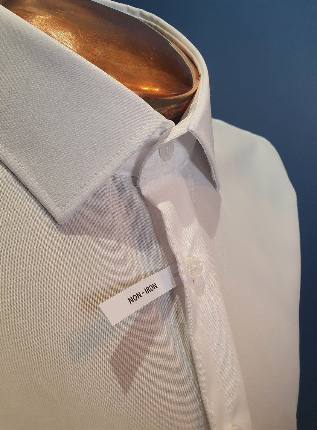 Non-iron Shirt | Regular Fit | White Double Cuff