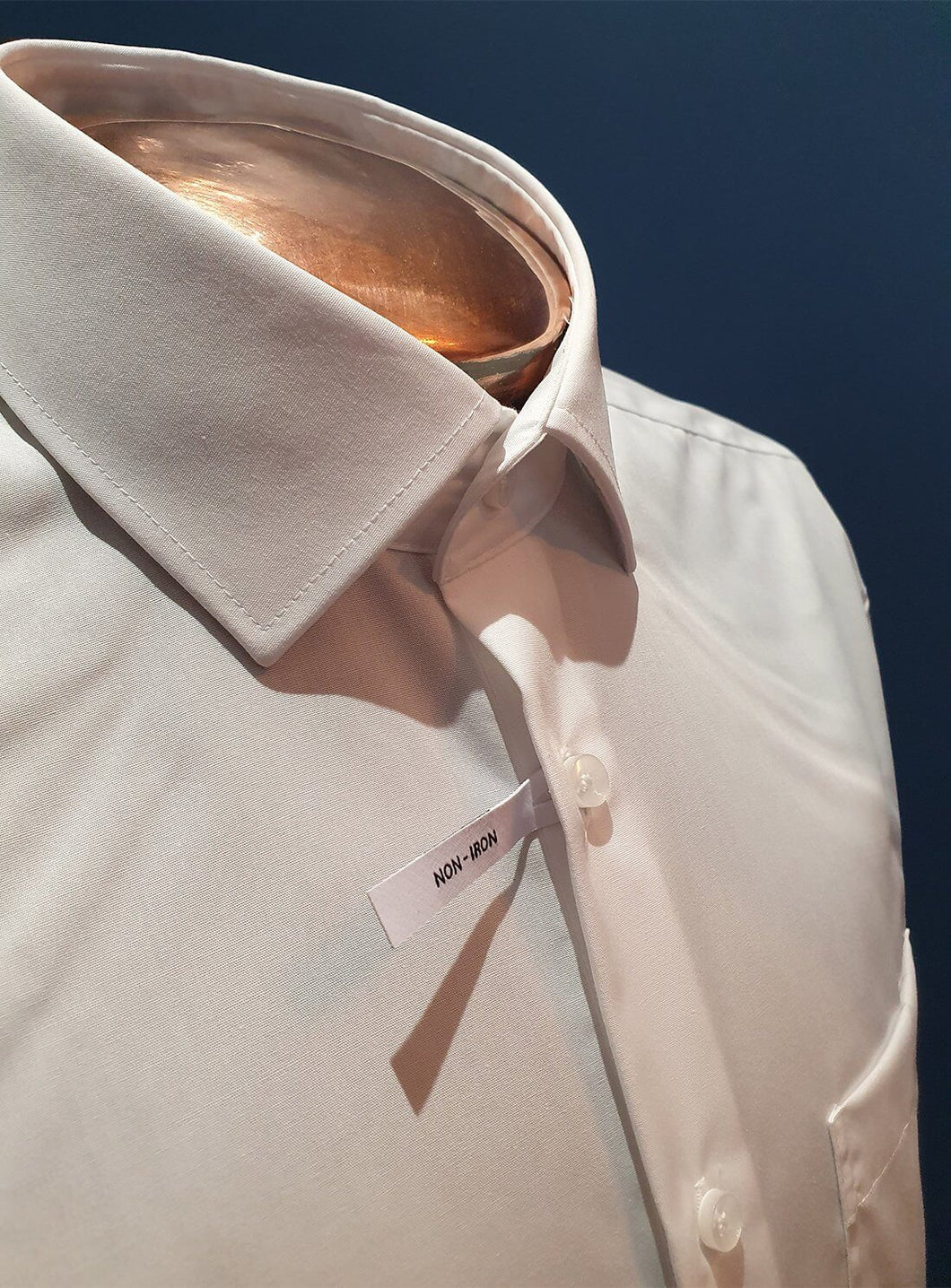 Non-iron Shirt | Regular Fit | White Single Cuff