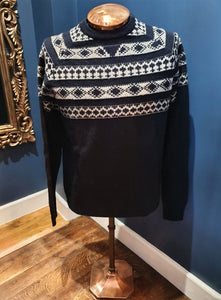 Navy Fairisle Jumper