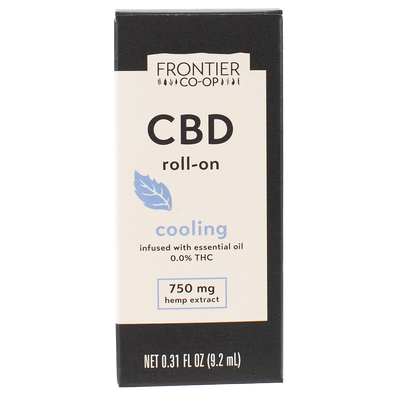 Cooling CBD Roll-On | 750mg | CBD by Frontier