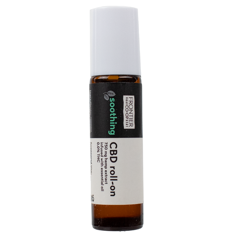 Soothing CBD Oil Roll-On | 750mg | CBD by Frontier