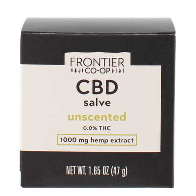Unscented CBD Salve | 1000mg | CBD by Frontier
