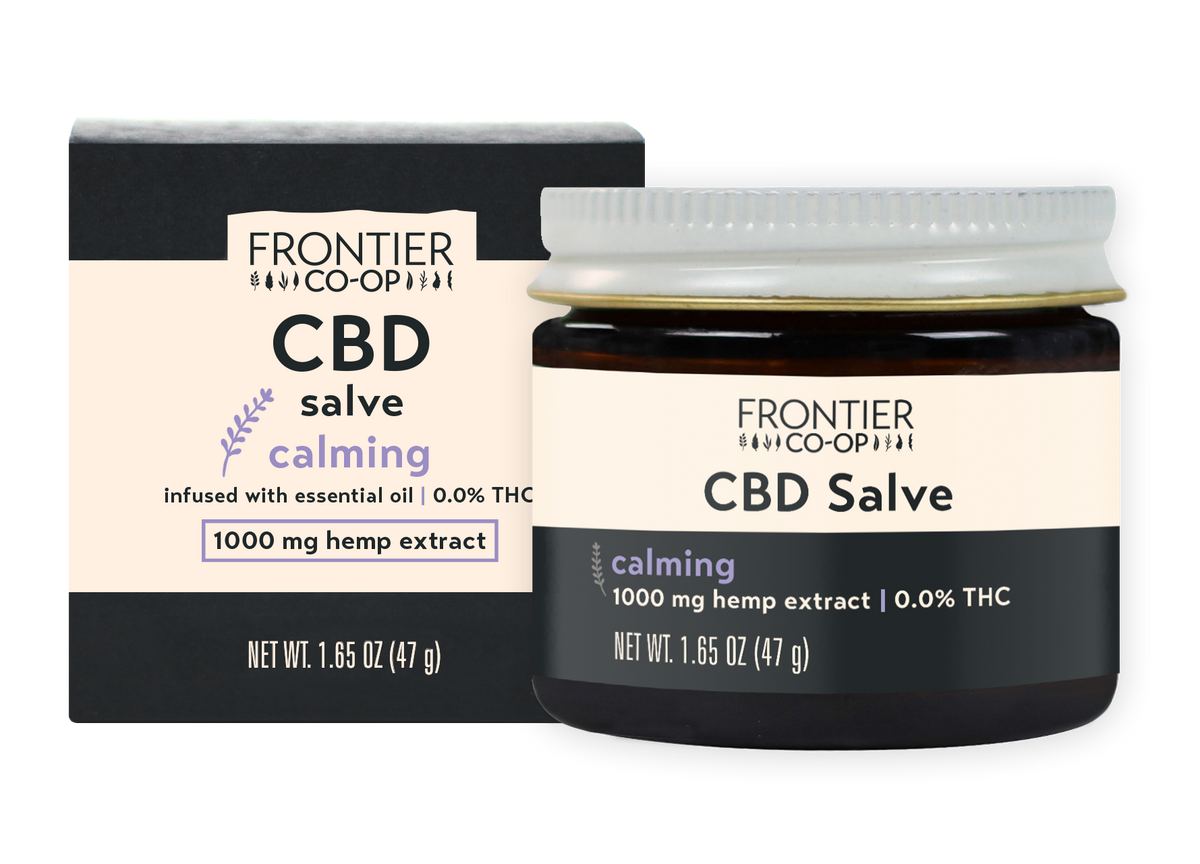 Calming CBD Salve | 1000mg | CBD by Frontier