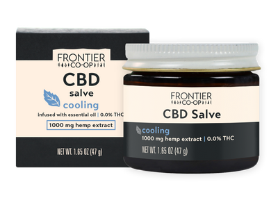 Cooling CBD Salve | 1000mg | CBD by Frontier