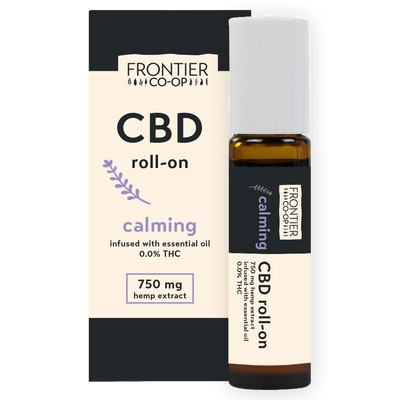 Calming CBD Oil Roll-On | 750mg | CBD by Frontier