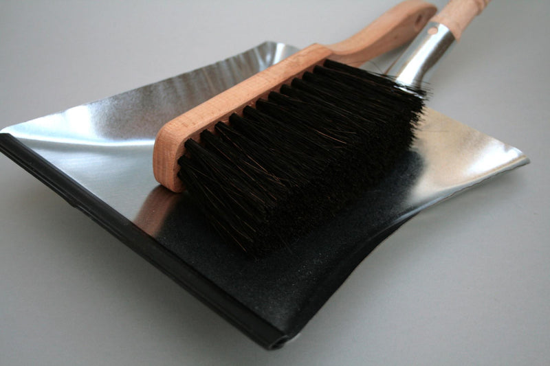 Galvinised Dustpan & Brush