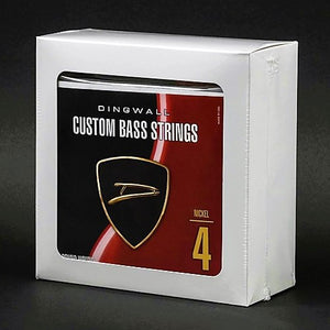 Box of 5 Sets of Strings - Dingwall Long-Scale 4-String Sets - Nickel Plated Steel